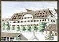 J Kull - Die Burse in Tübingen (aus Sammelbild) aquarLith 1850 Inv.619 (227).jpg