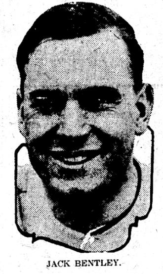 Jack Bentley (baseball) - Image: Jack Bentley newspaper
