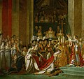 Jacques-Louis David - The Coronation of Napoleon (1805-1807) Cropped.jpg