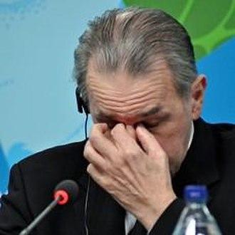 Nodar Kumaritashvili - IOC President Jacques Rogge at a press conference on Kumaritashvili's death, 2010
