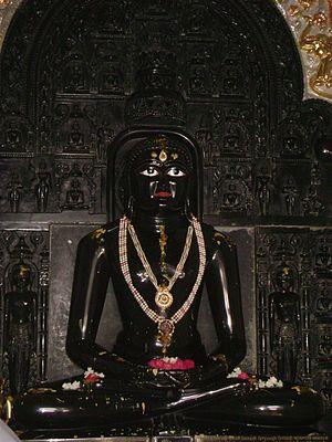 Rishabhdeo - Main Idol inside Gaj Mandir