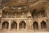 Jain statues, Gwalior