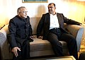 Jaipal Reddy with the Minister of Petroleum, Iran, Mr. Rostam Ghasemi, at a bilateral meeting, on the sidelines of the 5th OPEC Seminar, at Vienna (Austria) on June 14, 2012.jpg