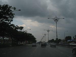 Skudai - Image: Jalan Skudai