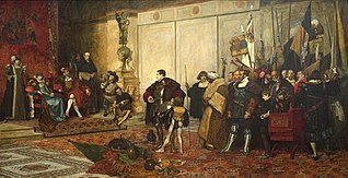 Victorious: One of four Works Illustrating the Life of a Soldier of Fortune