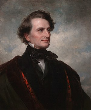 James Dwight Dana - Dana, painted by Daniel Huntington in 1858