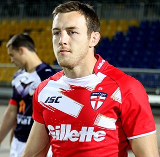 James Roby English Rugby League legend