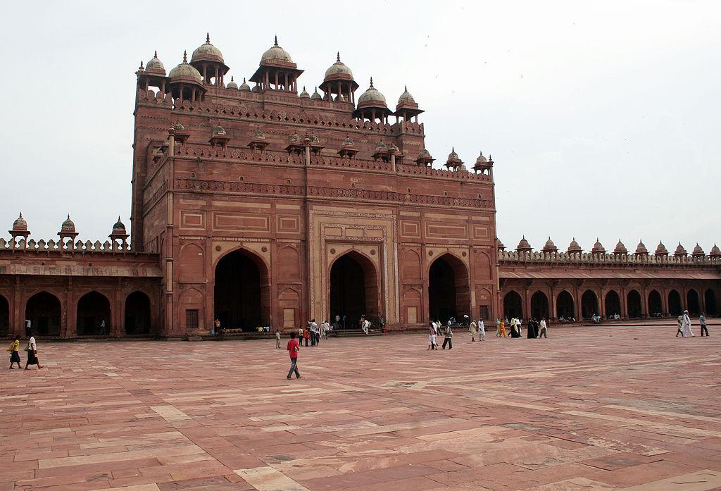 Jami Masjid (Fatehpur Sikri)-2