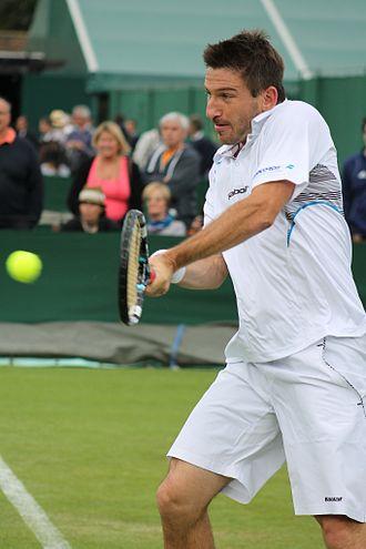Jan Hájek (tennis) - Hájek at the 2013 Wimbledon Championships