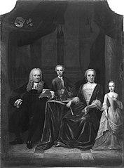 Mr. Jan Graafland (1697-1767) en zijn gezin