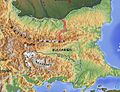 Jantra River Bulgaria Balkan topo de.jpg