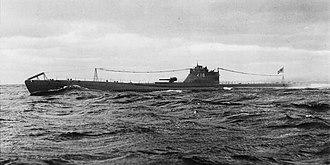 Type C submarine - I-18 in 1941