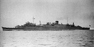 Imperial Japanese Navy ship classifications - Submarine tender ''Tsurugizaki''
