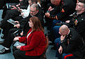 Jason Dunham's parents attend a ceremony honoring their son at the National Museum of the Marine Corps.jpg