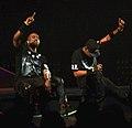 Jay-Z Kanye Watch the Throne Staples Center 2.jpg