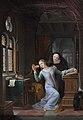 Jean-Antoine Laurent - Héloïse embrassant la vie monastique.jpg