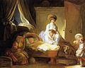 Jean-Honoré Fragonard - Visite à la nourrice.jpg