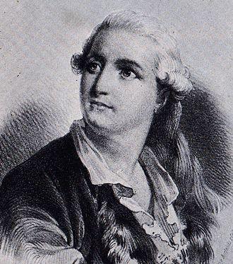 Jean Dauberval - Lithograph of Jean Dauberval, Paris, circa 1790