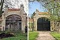 Jelsum, Dekema state tuinmuur met poort 1980-2009 RM514010.jpg