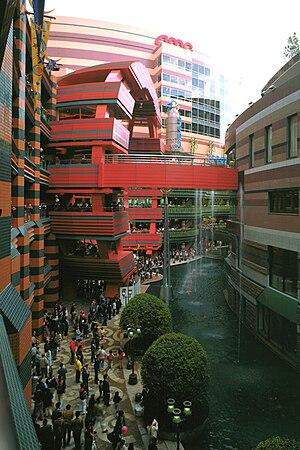 Mixed-use development in Fukuoka, Japan, desig...