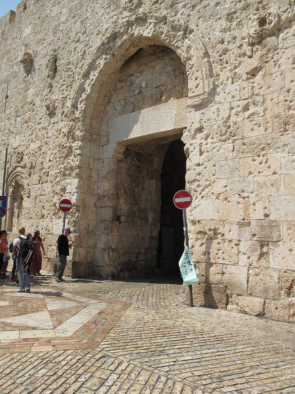 Jerusalem, Zion Gate