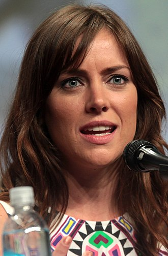 Jessica Stroup - Stroup at the 2014 Comic-Con International