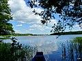Jezioro Sępoleńskie w oddali Sępólno Krajeńskie. - panoramio.jpg