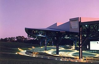 Jiffy Lube Live Outdoor amphitheater in Bristow, Virginia, US