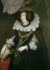 Erzherzogin Maria Anna (1610-1665), Kurfürstin von Bayern, Kniestück