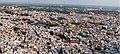 Jodhpur-Mehrangarh Fort-08-Town panoramic-20131011.jpg