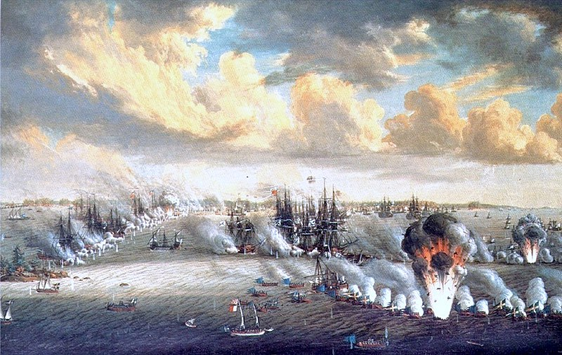 File:Johan Tietrich Schoultz målning Slaget vid Svensksund.jpg