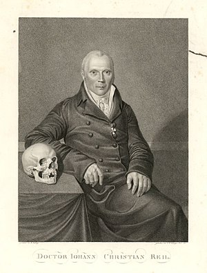 Johann Christian Reil - Reil the anatomist: a portrait from 1811