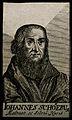 Johann Schoener (Schonerus) von Karlstadt. Line engraving, 1 Wellcome V0005306.jpg