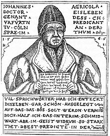Johannes Agricola (Source: Wikimedia)