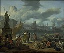 Johannes Lingelbach - Southern Harbour among Rocks - KMS1144 - Statens Museum for Kunst.jpg