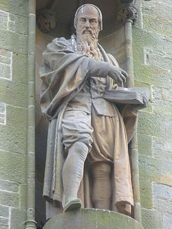 John knox statue, haddington