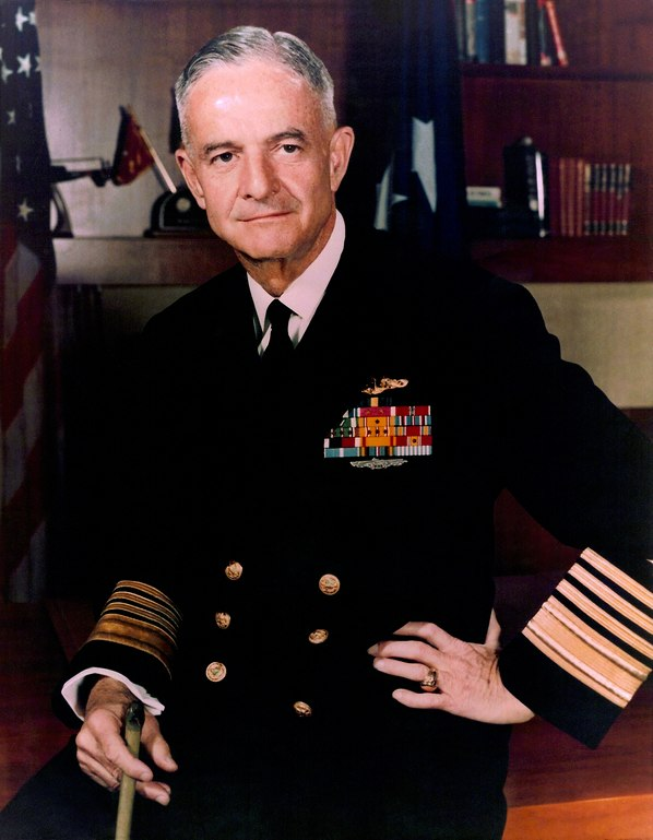 John S. McCain, Jr. color portrait