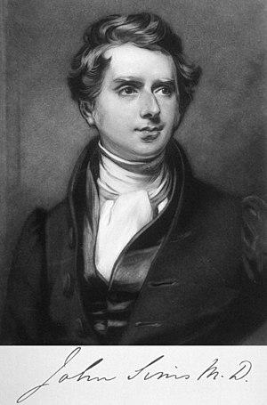 John Sims (taxonomist) - John Sims by Charles Robert Leslie