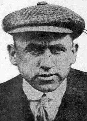 John Sullivan (outfielder) - Image: John Sullivan 1918