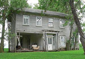 National Register of Historic Places listings in Nemaha County, Nebraska - Image: John W. Bennett house from NE 1