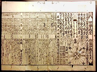 calendars used in Japan past and present
