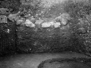 Jordprofil i Bamboulans östra del. Kition. Larnaca - SMVK - C01758.tif
