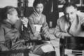 Josef von sternberg + setsuko hara + arnold fanck 1936.png