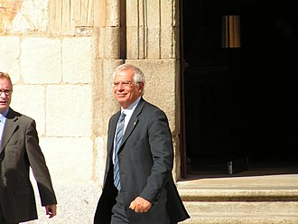 Josep Borrell - Borrell during the 2005 Ibero-American Summit in Salamanca.