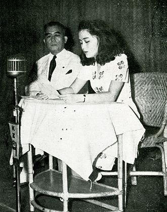Jorge B. Vargas - Vargas and his daughter, 1943