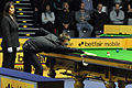 Judd Trump and Michaela Tabb at Snooker German Masters (DerHexer) 2013-01-30 02.jpg