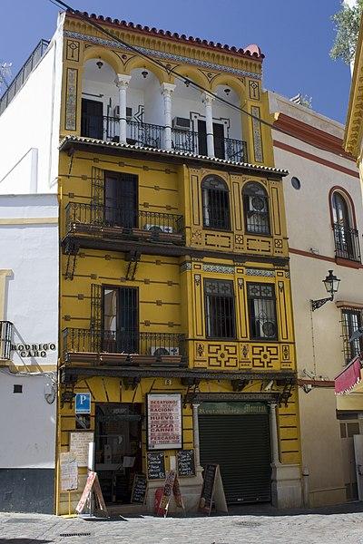 File juderia de sevilla casa de mudejar style for Casas de sofas en sevilla