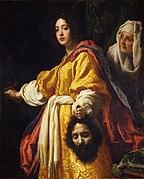 Judit con la cabeza de Holofernes, por Cristofano Allori