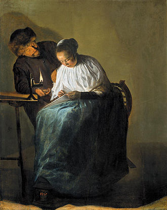 1631 in art - Image: Judith Leyster The Proposition