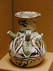 fragmentary jug with palmette decoration